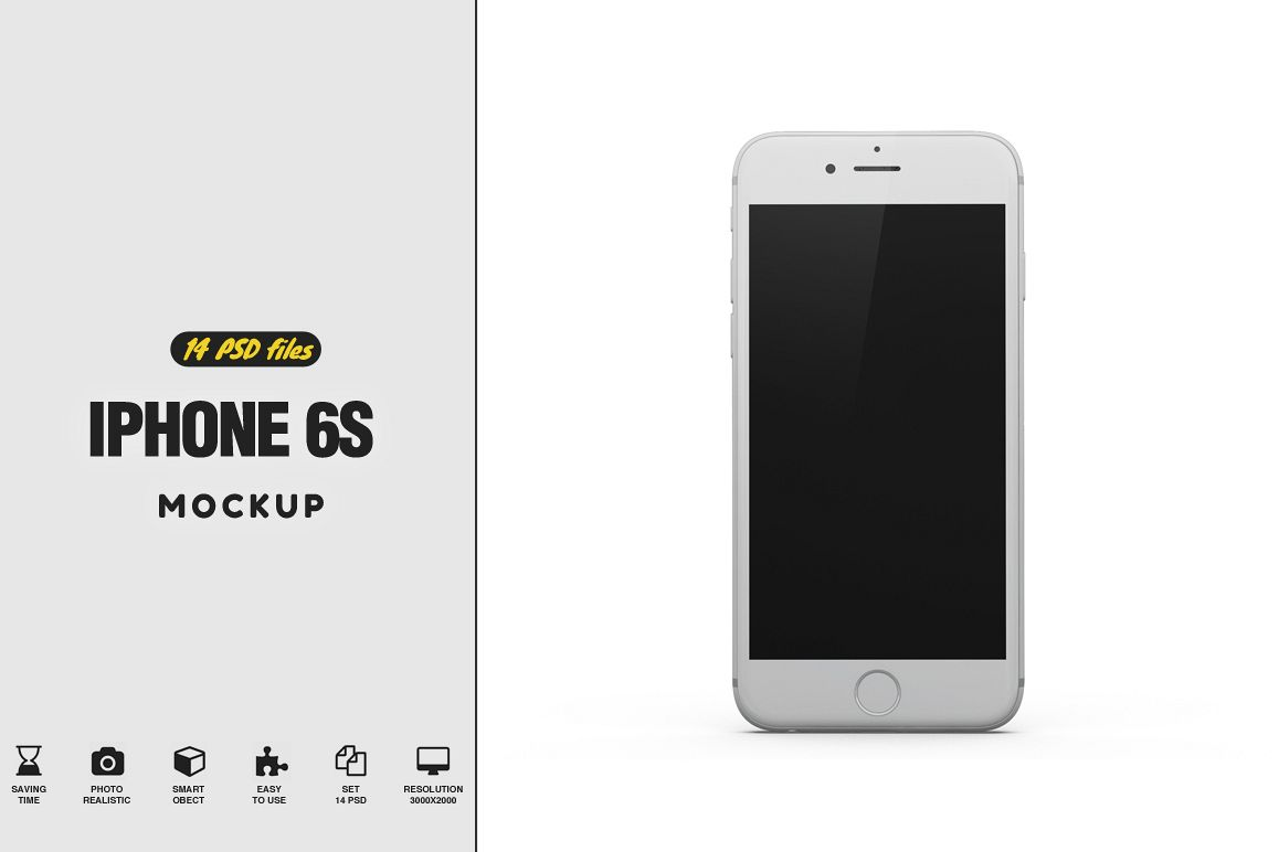 iPhone 6S Mockup example image 1
