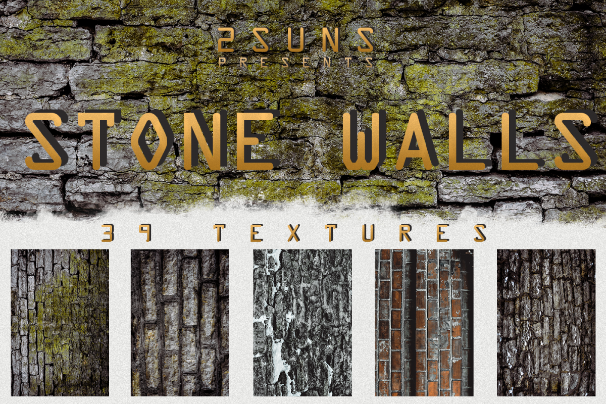 Stone walls textures, brick wall, walls background old example image 1