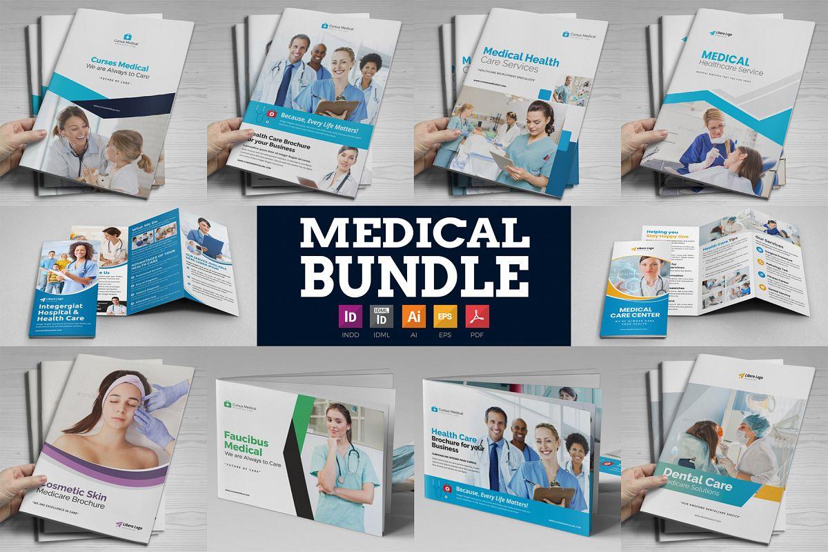 Medical HealthCare Brochure Bundle example image 1