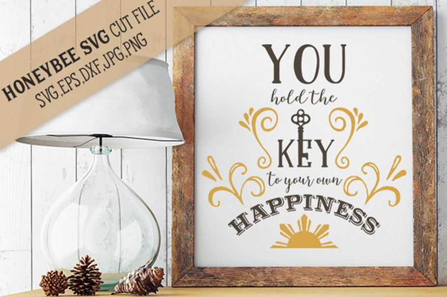 You Hold The Key To Your Own Happiness svg example image 1
