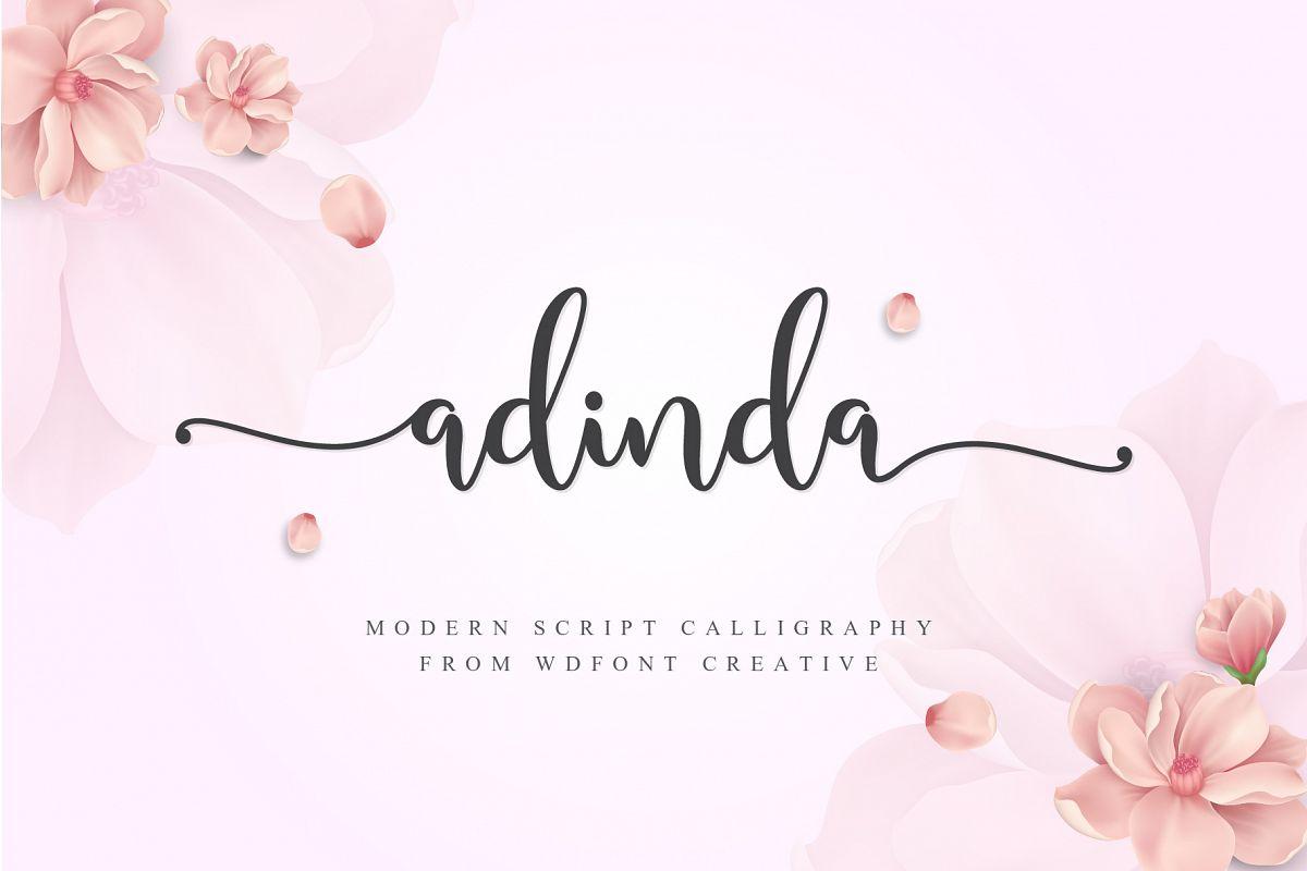 Adinda Script example image 1