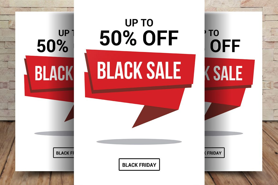 Black Friday Sale Flyer example image 1