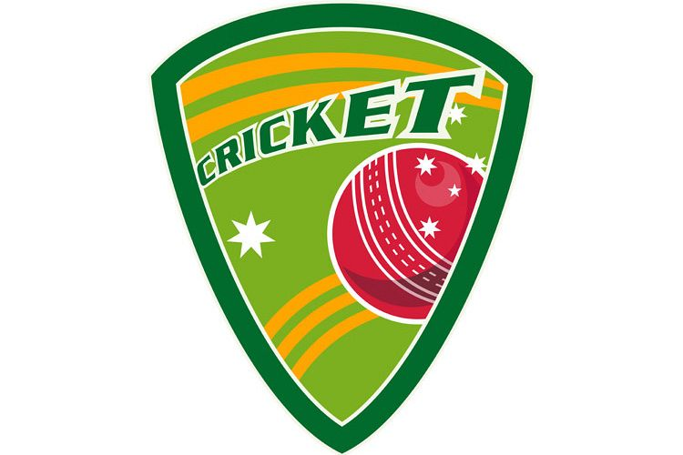cricket sports ball shield stars example image 1