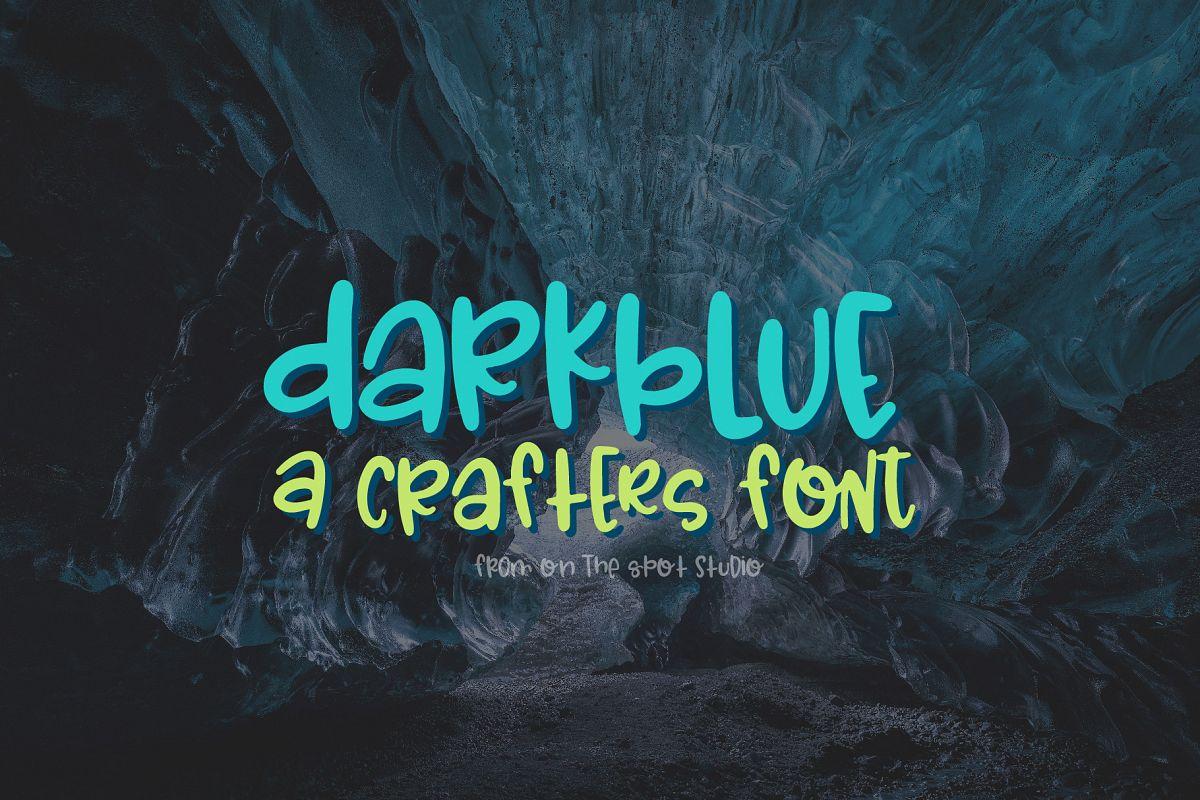 Dark Blue example image 1
