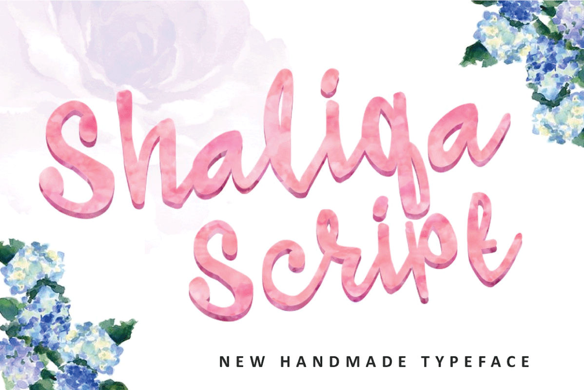 Shaliqa Script example image 1