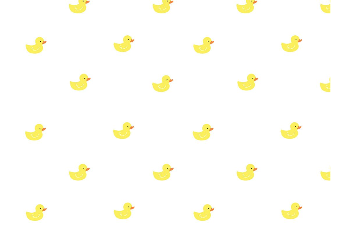 Rubber Ducky Seamless Pattern example image 1