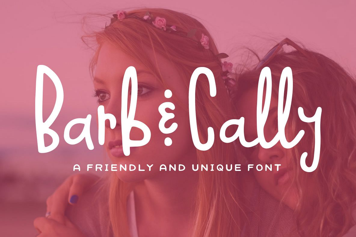 Barb & Cally Font example image 1