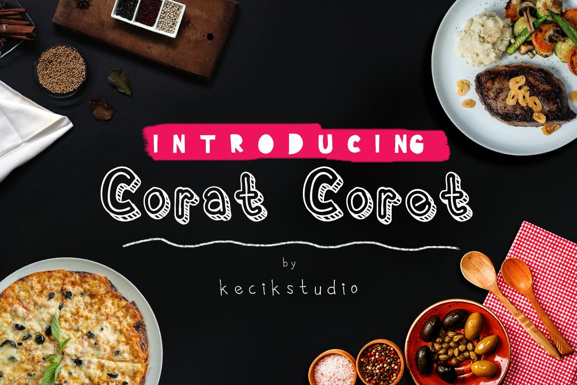 Corat Coret example image 1