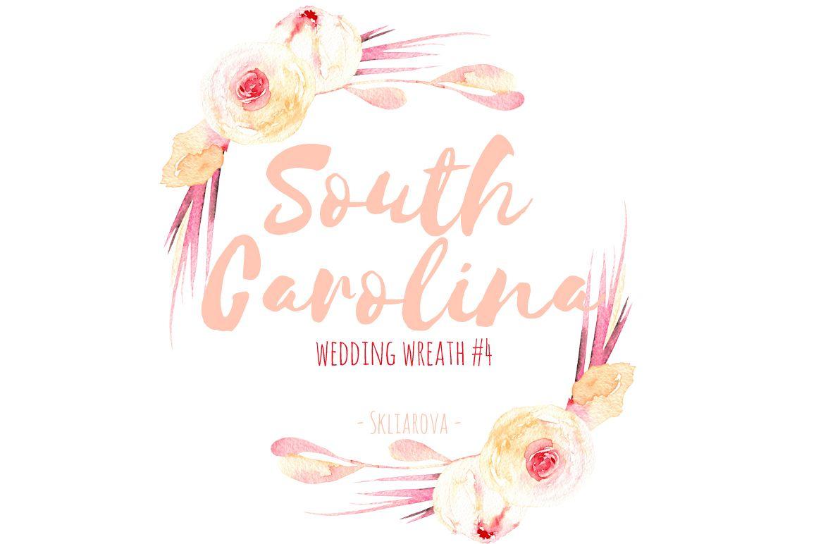 South Carolina. Wreath #4 example image 1