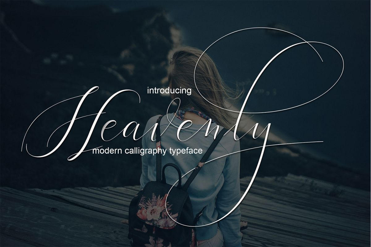 Heavenly Script example image 1