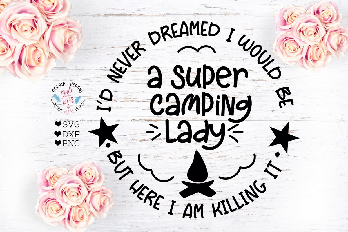 Super Camping Lady example image 1