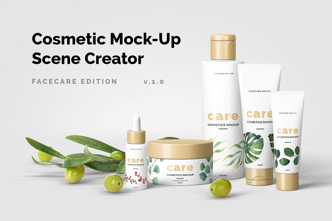 Cosmetic Mockup Scene Creator example image 1