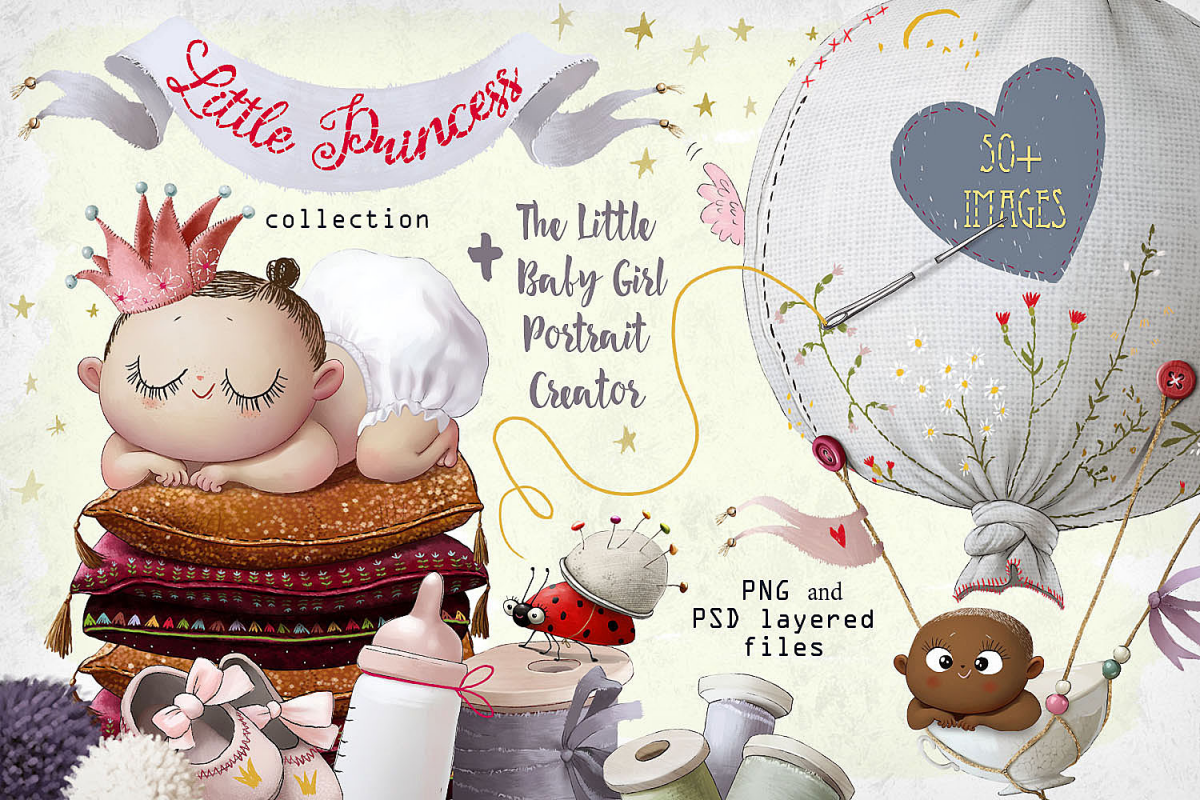 little Princess.Portrait Creator example image 1