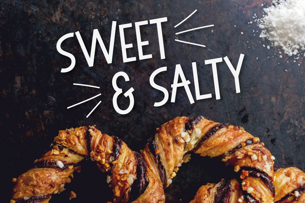 Sweet & Salty | A Bouncy Sans Serif example image 1
