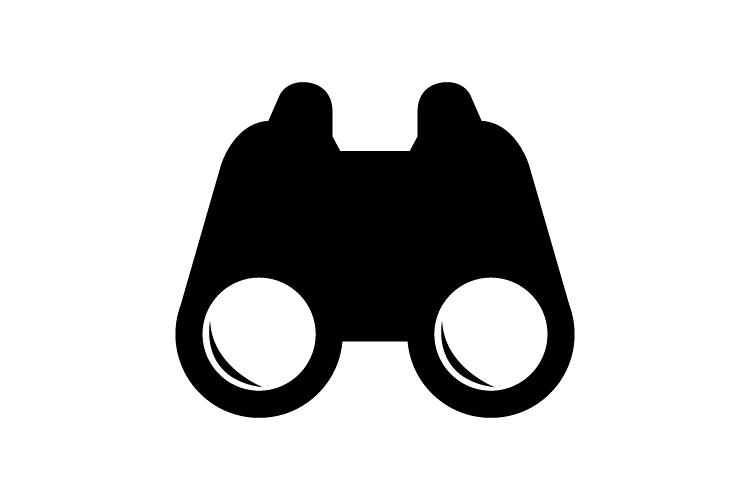 Binoculars icon example image 1