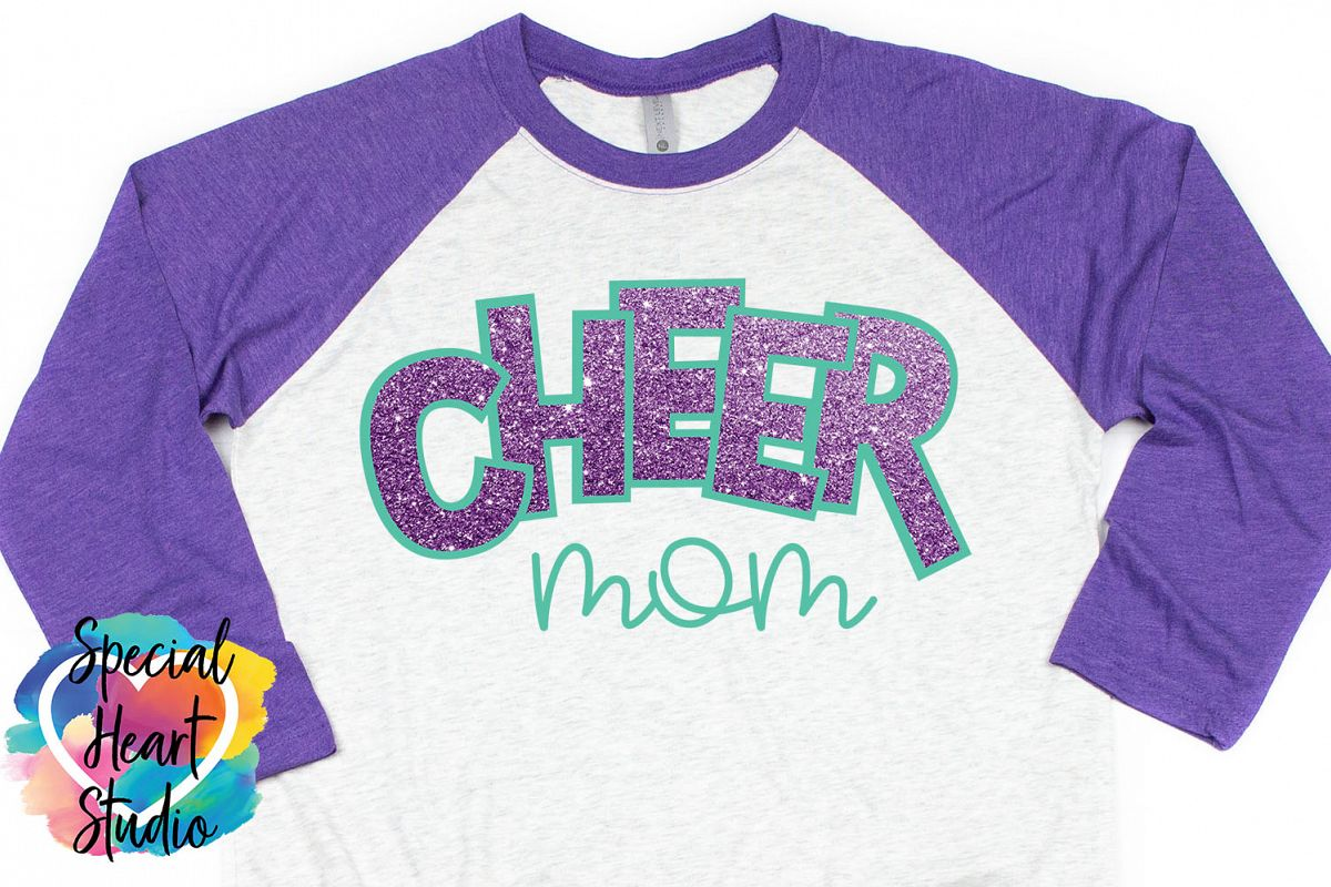Cheer Mom SVG example image 1