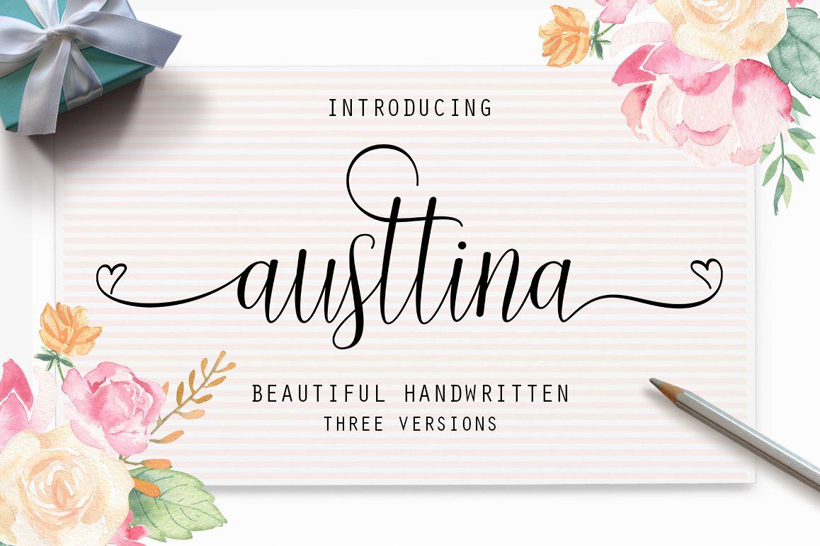 Austtina script example image