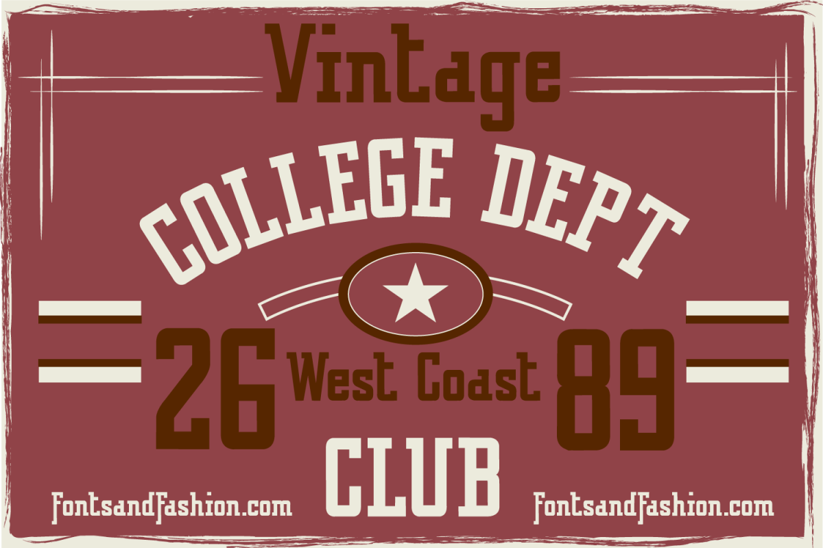 Vintage College Dept_Pure example image 1