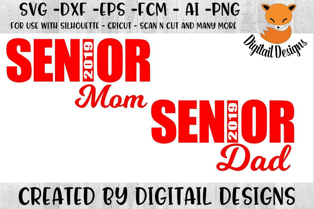 Senior SVG - png - eps - dxf - ai - fcm - Graduation SVG example image 1
