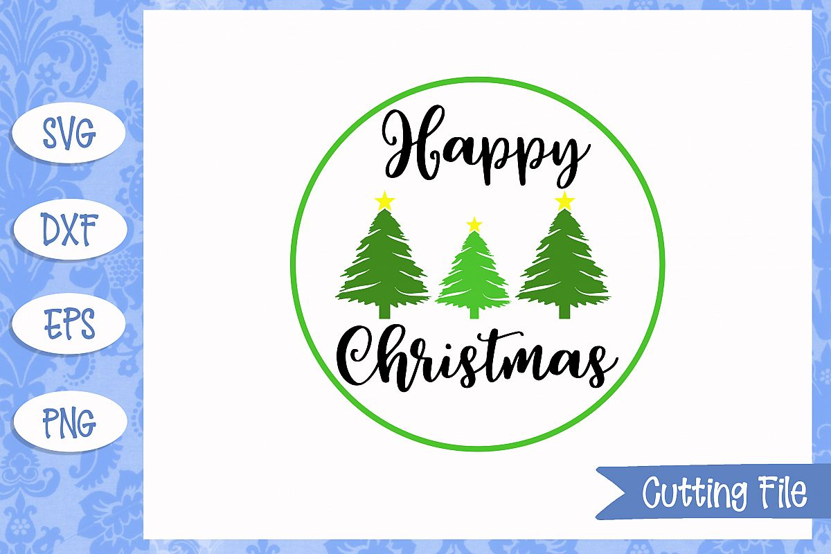 Happy Christmascut File example image 1