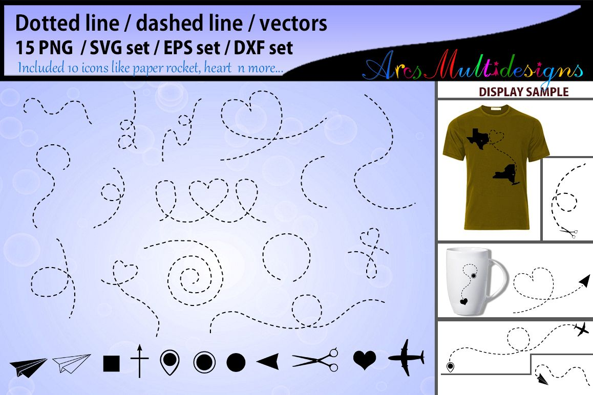 Dotted line svg vector dashed line svg vector dashed line example image 1