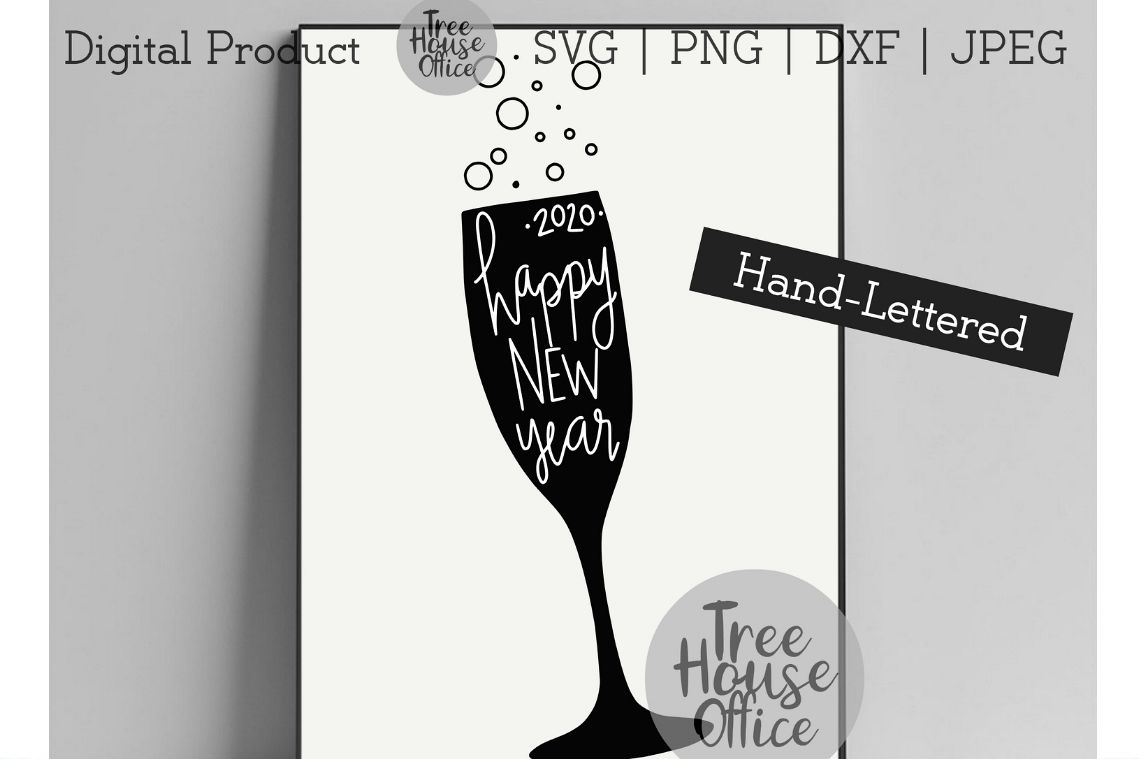 Happy New Year 2020 Greeting Cards