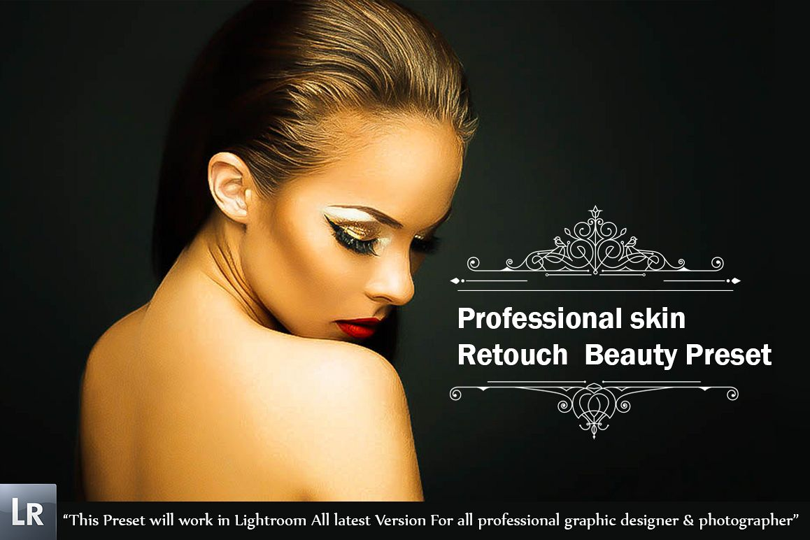 Professional skin Retouch Beauty Preset example image 1