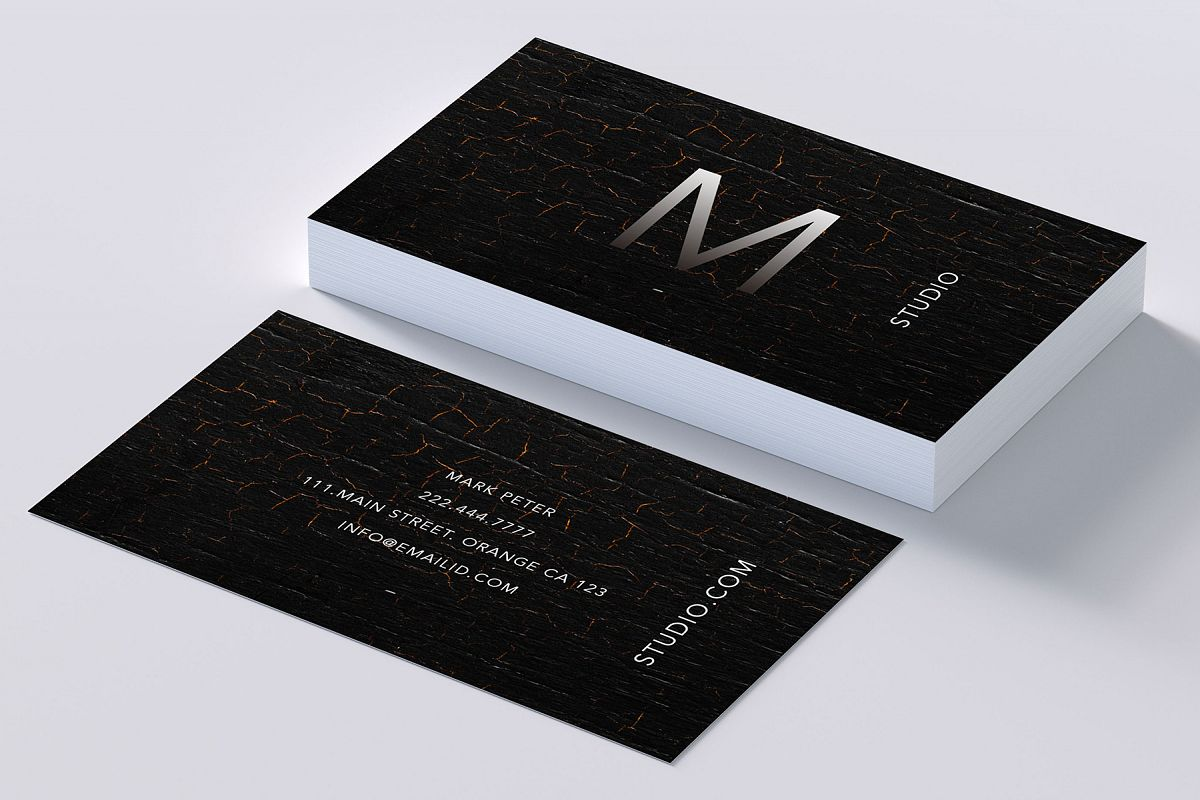 Classy texture business card by creativ design bundles classy texture business card example image colourmoves