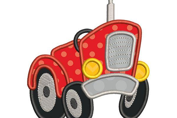Tractor Applique example image 1