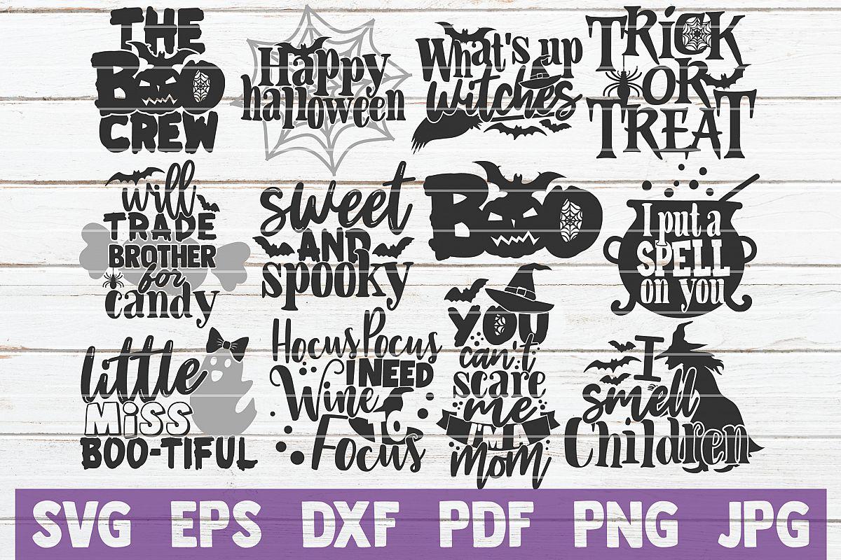 Halloween SVG Bundle | Scary Halloween Cut Files example image 1
