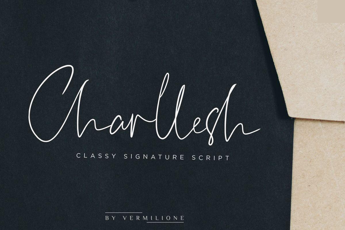 Charllesh Classy Signature example image 1