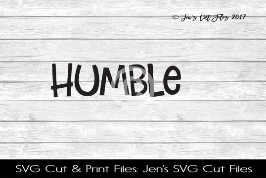 Humble SVG Cut File example image 1