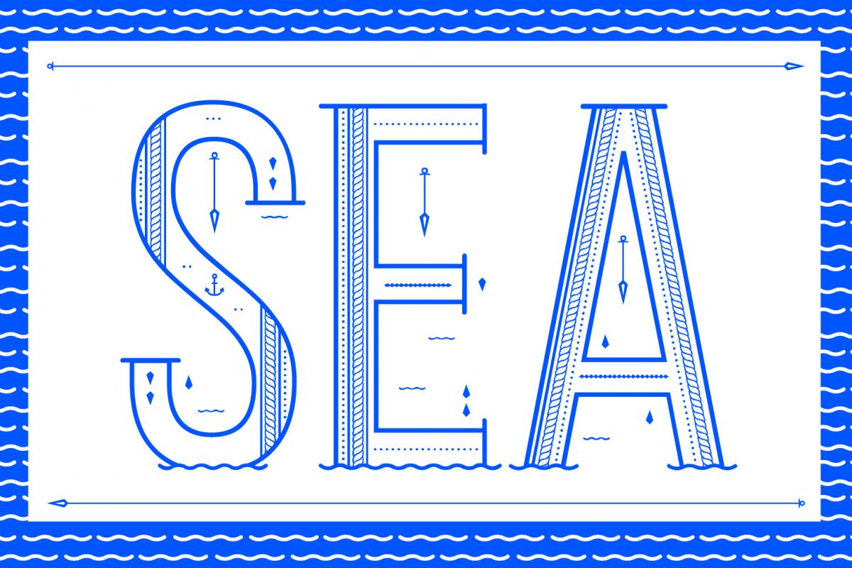 Sea Font example image 1