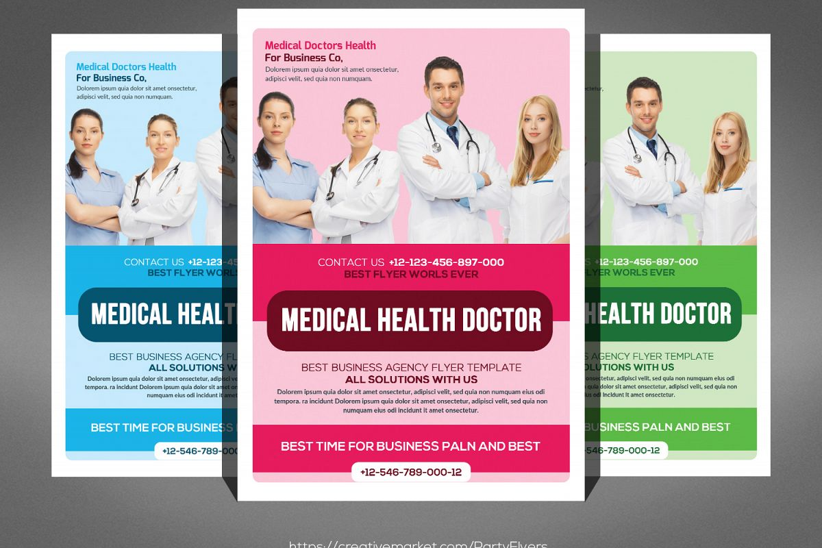 Medical Doctor Flyer example image 1