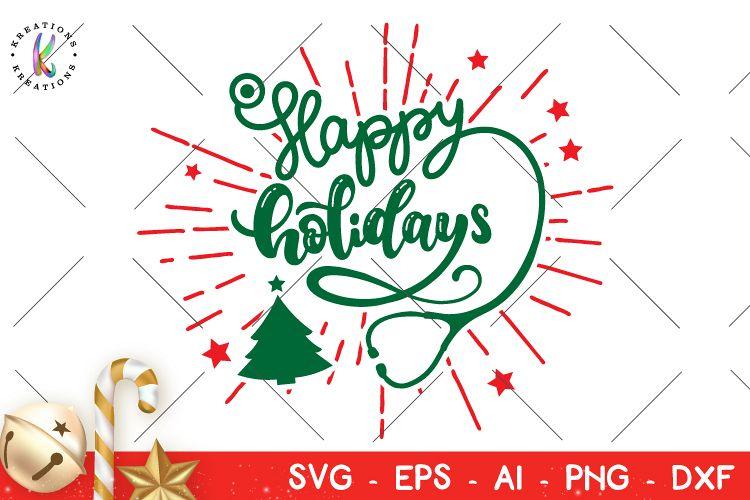 Nurse Christmas Svg.Christmas Svg Nurse Happy Holidays Svg Nurse Christmas Rn
