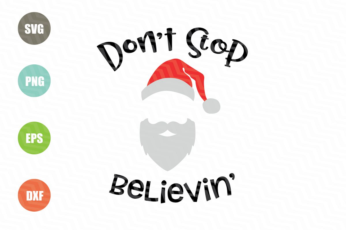 Don't Stop Believin' SVG example image 1