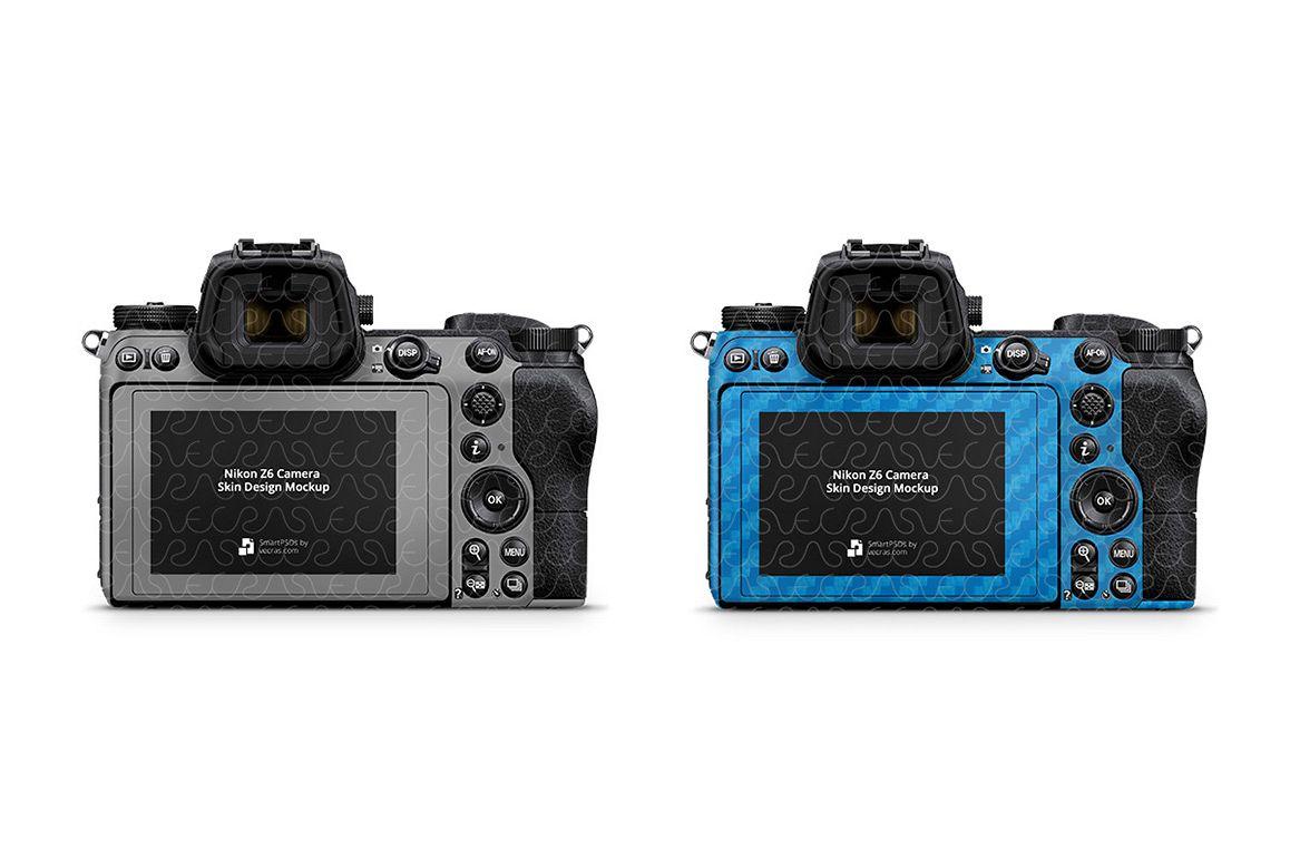 Nikon Z6 Camera 2018 Vinyl Skin Design Template example image 1