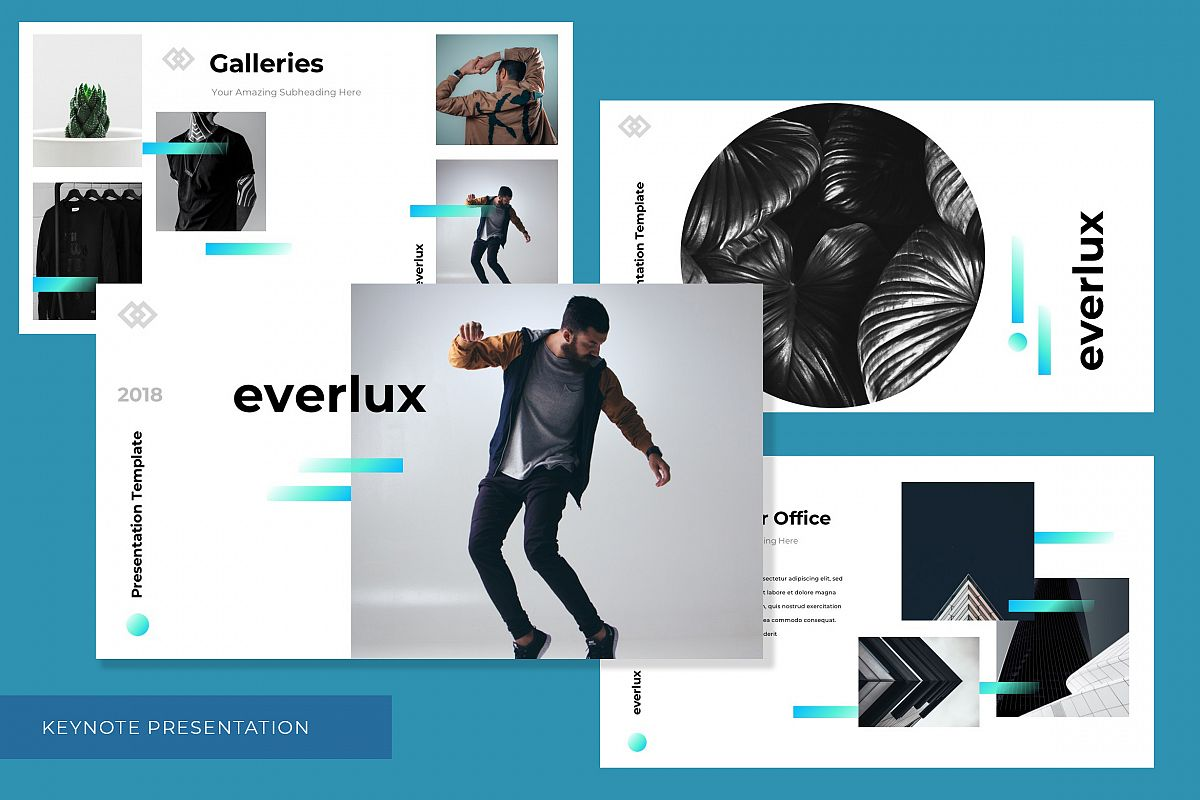 everlux keynote presentation template