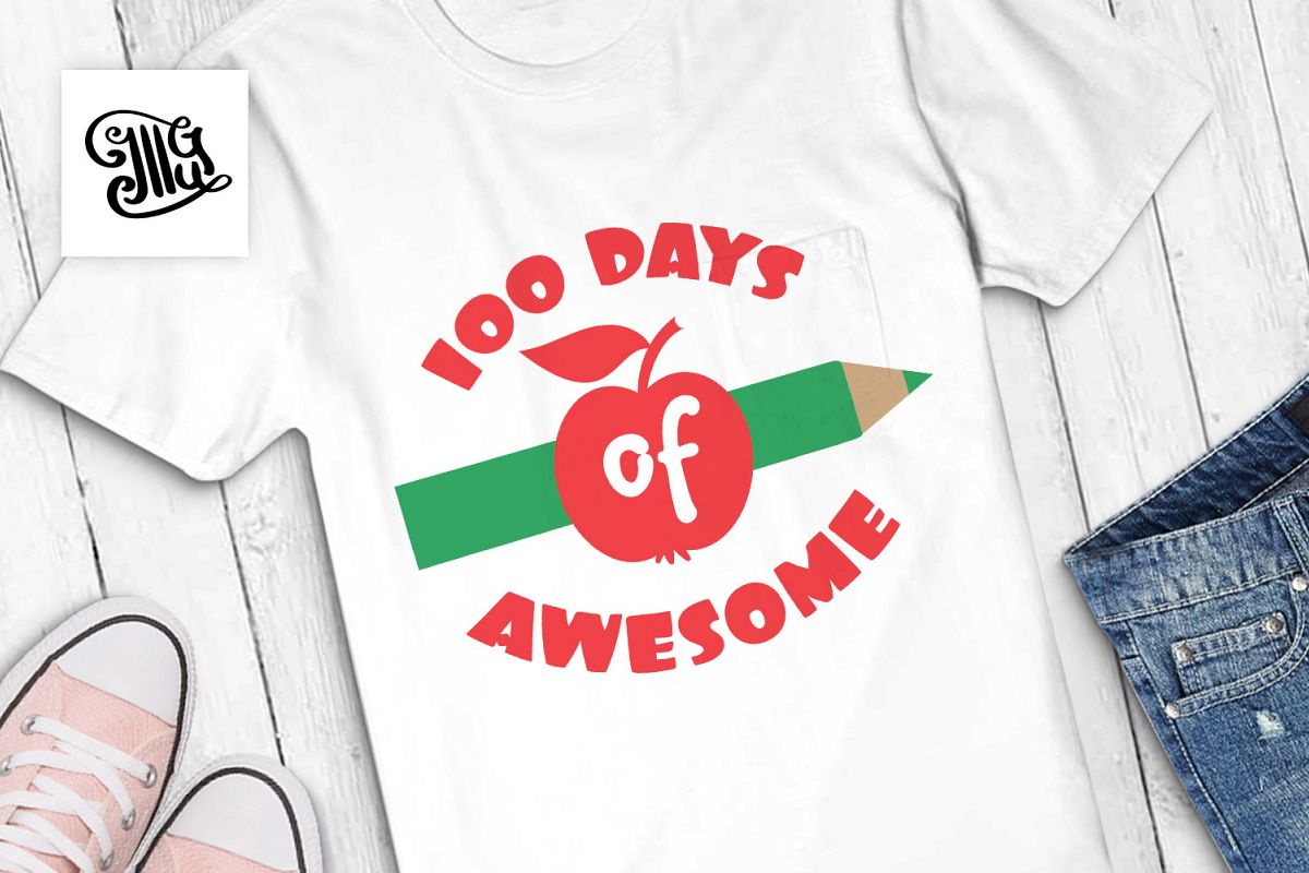 100 days of awesome svg example image 1