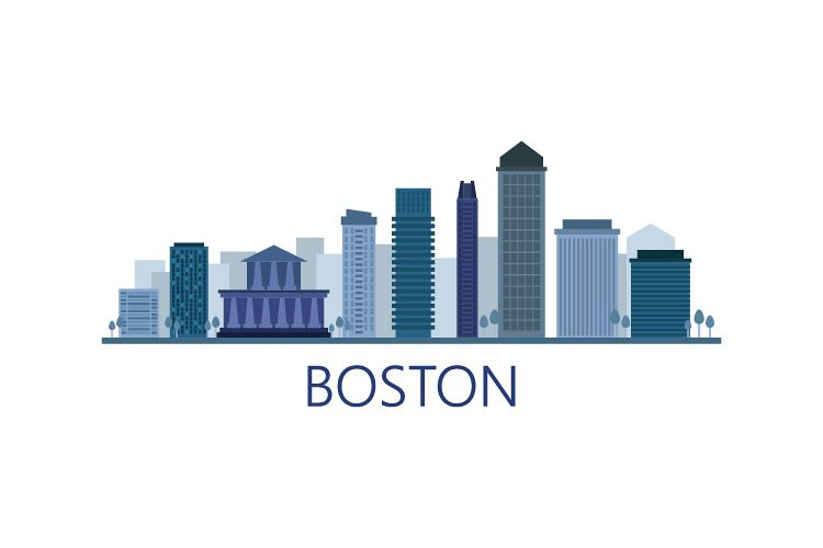 Boston skyline example image 1