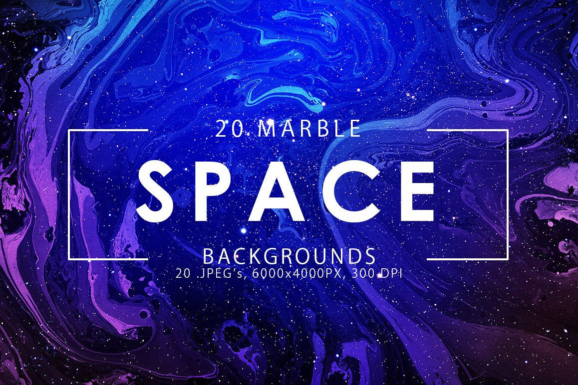 Space Marble Backgrounds example image 1