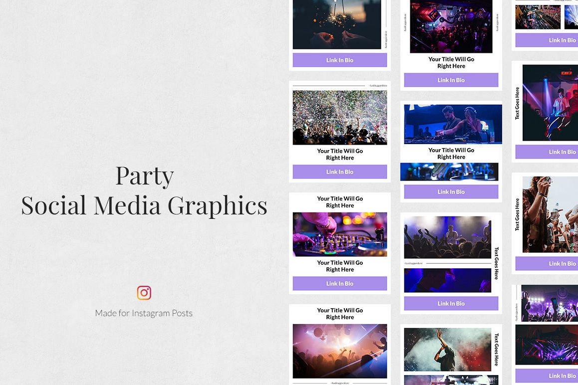 Party Instagram Posts example image 1