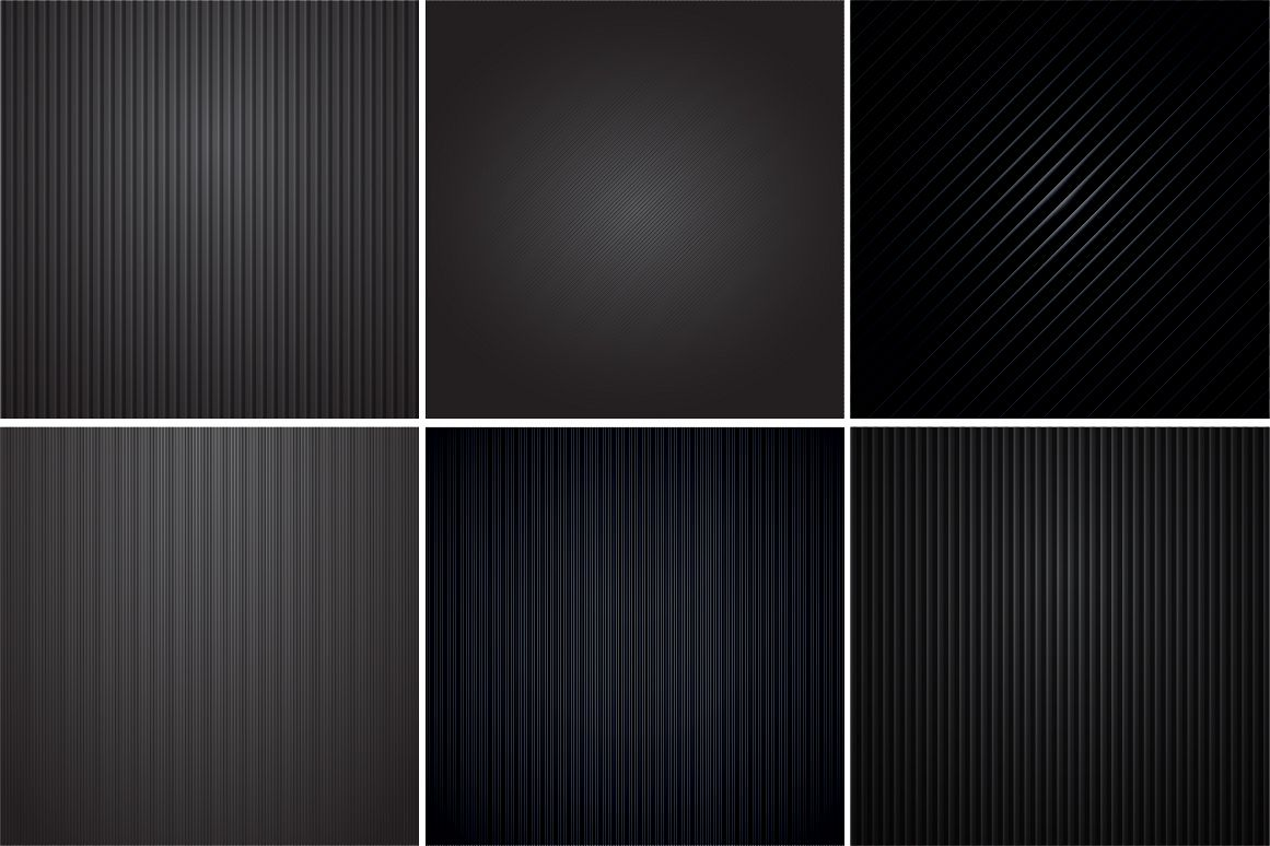 Colleciton of black striped textures example image 1