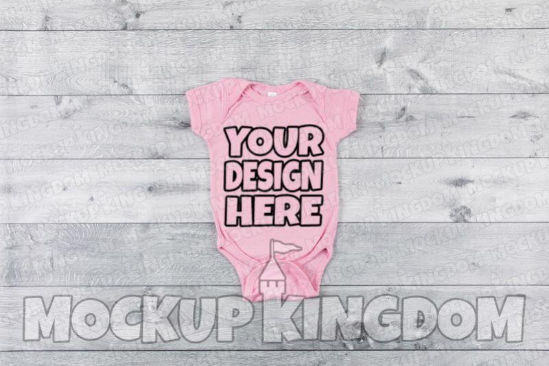 Baby Bodysuit Mockup example image 1