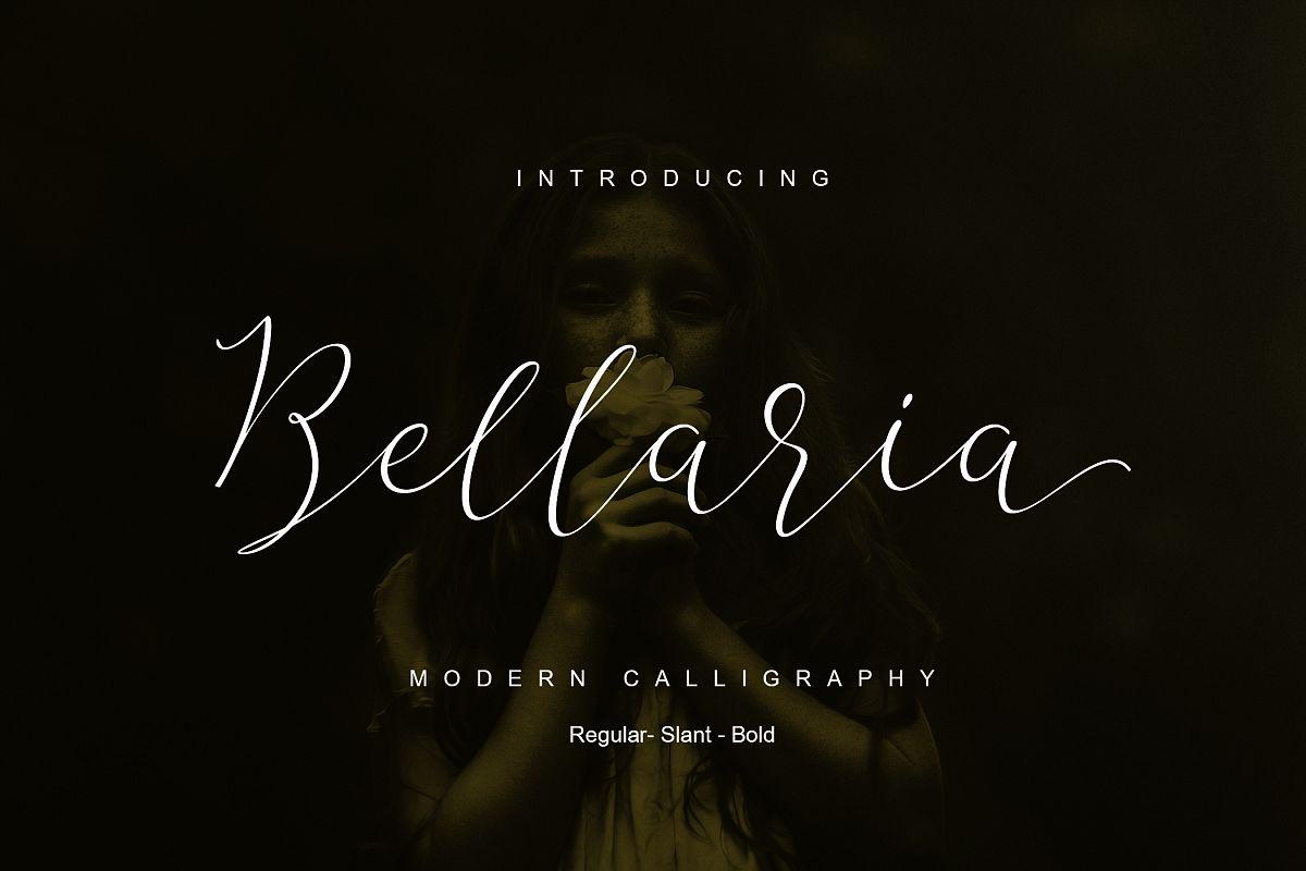 The Bellaria Script Discount 50  example image 1