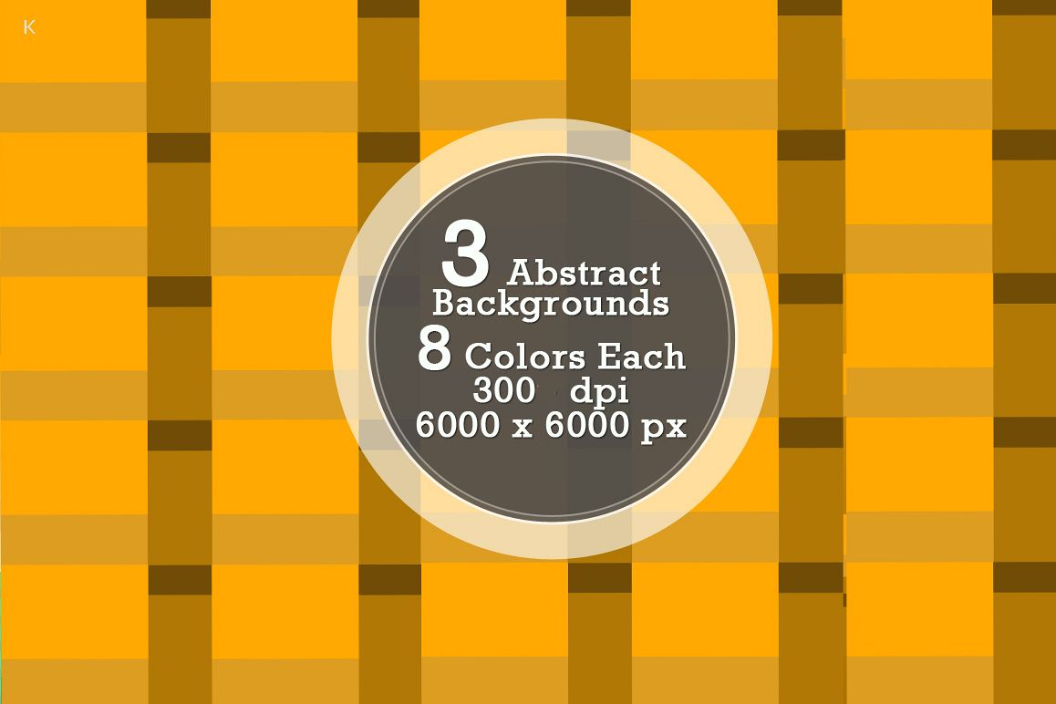 Pack of 3 Abstract Backgrounds example image 1