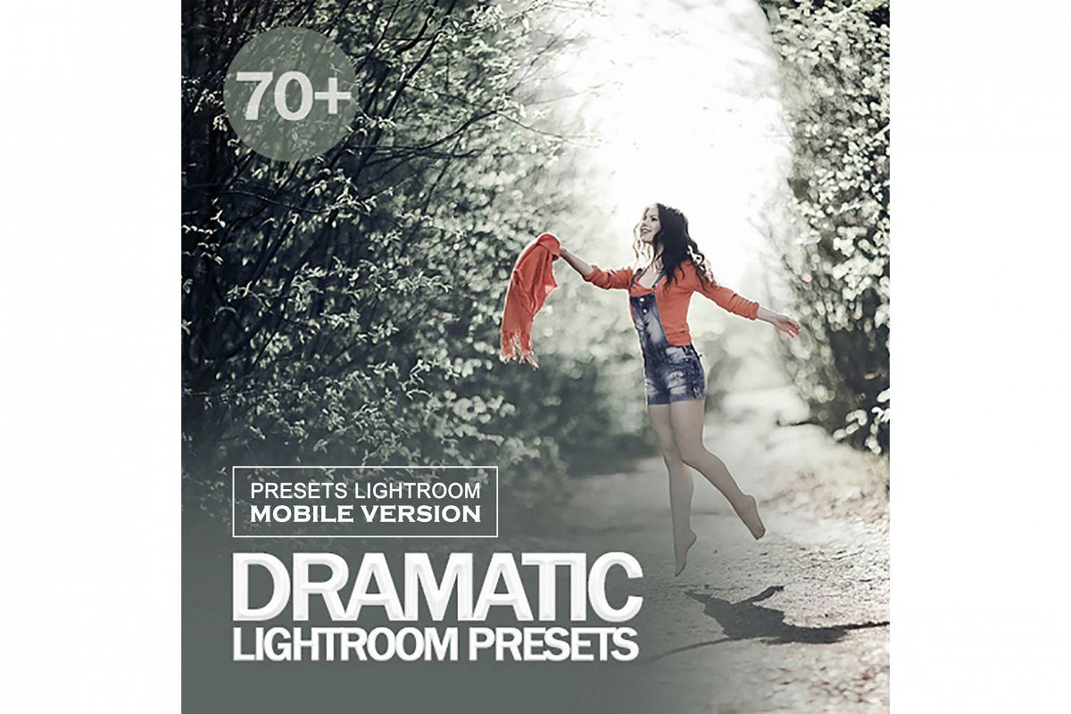 Dramatic Lightroom Dramatic Lightroom Mobile Presets example image 1