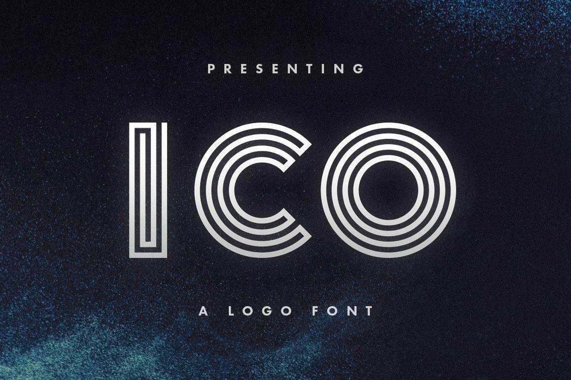 Ico - Logo Font example image 1