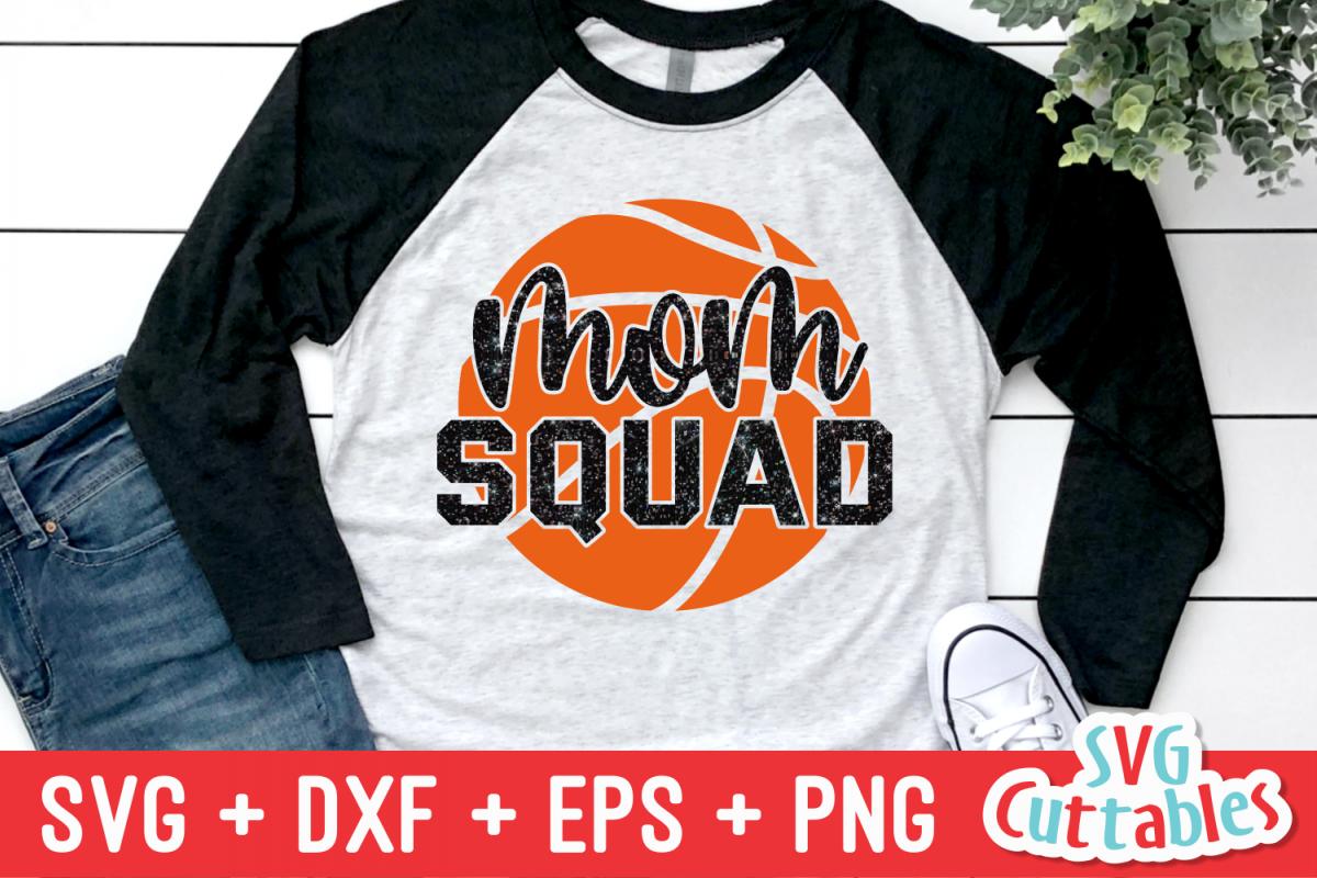 Basketball svg | Basketball Mom Squad example image 1