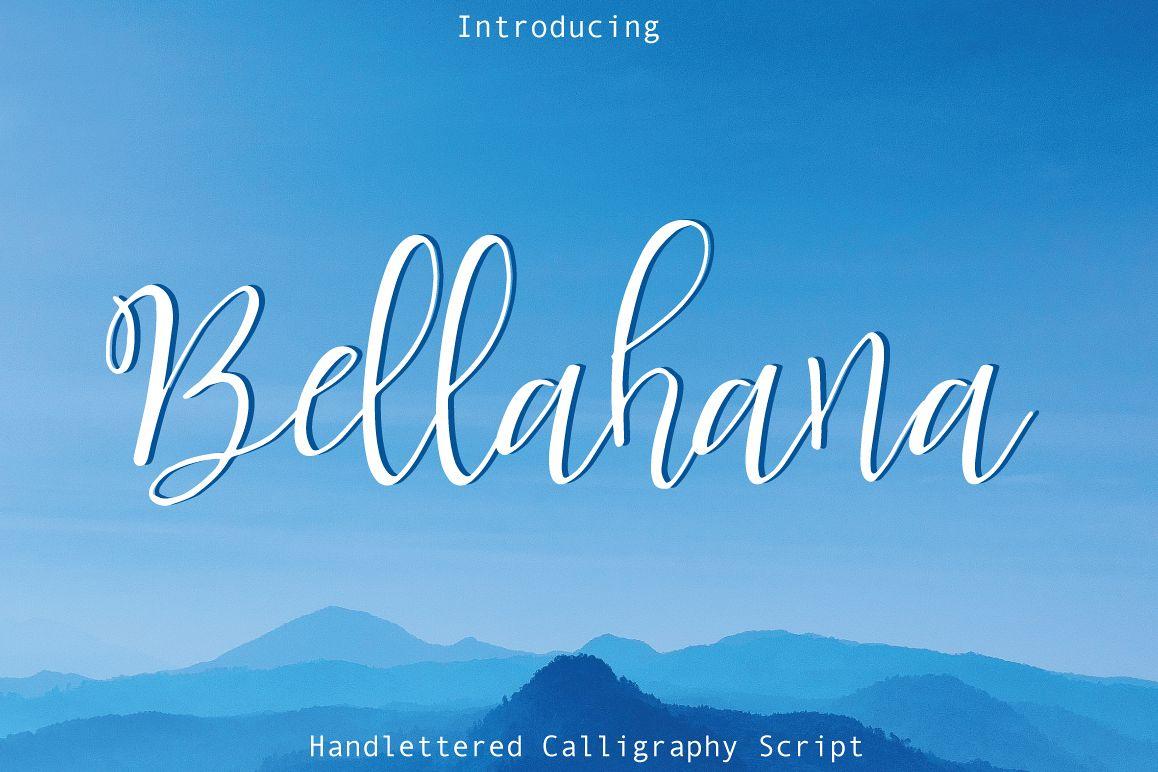 Bellahana Script example image 1